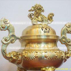 bán đỉnh thờ bằng đồng vàng