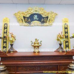 đỉnh thờ bằng đồng vàng