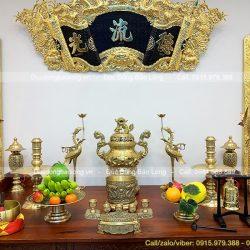 đồ thờ đồng vàng