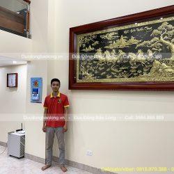 Treo Tranh Đồng Bát Mã 2m3 Tại Thanh Oai – Hà Nội