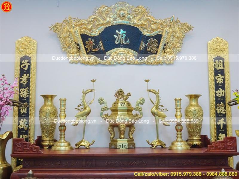 bán đồ thờ bằng đồng catut