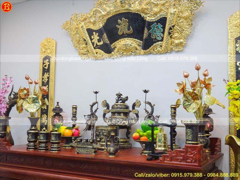 bán đồ thờ bằng đồng đầy đủ