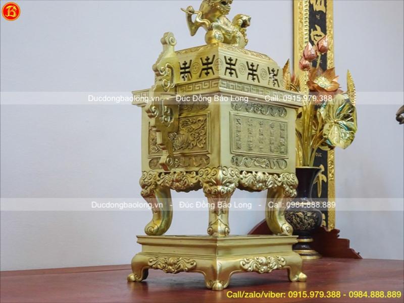 đỉnh thờ bằng đồng