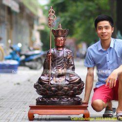 Ý nghĩa tượng Phật Địa Tạng Vương Bồ Tát cực độc đáo, cực ấn tượng