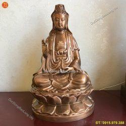 Giá thỉnh tượng Phật Quan Âm bằng đồng – Cơ sở hàng đầu thị trường