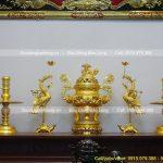 Địa chỉ bán Hạc thờ để ban thờ gia tiên, thờ Phật bằng đồng giá rẻ