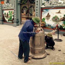 Báo giá đúc chuông đồng tận nơi cho đền, chùa trên toàn quốc