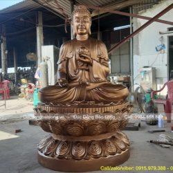 Ý nghĩa và cách tạo hình tượng Phật A Di Đà Tiếp Dẫn hay