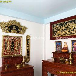 Các mẫu liễn thờ, tranh thờ tốt nhất treo phòng thờ