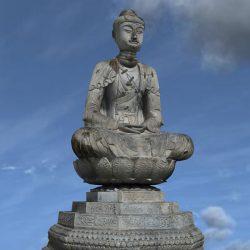 Chiêm ngưỡng tượng phật A Di Đà chùa Phật Tích bảo vật quốc gia