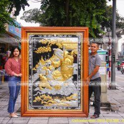 Quy trình Mạ vàng tranh đồng mỹ nghệ theo phương pháp mới nhất