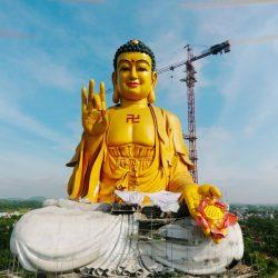 Chiêm ngưỡng bức tượng Phật A Di Đà lớn nhất Việt Nam
