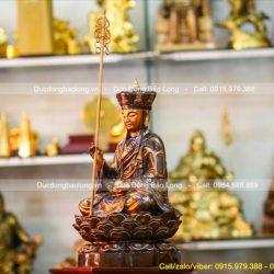 Báo giá tượng Địa Tạng Vương Bồ Tát bằng đồng cao cấp, đúc thủ công