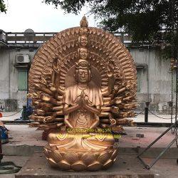 Ý nghĩa tượng Phật Thiên Thủ Thiên Nhãn trong tín ngưỡng dân gian