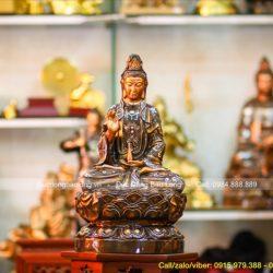Các bước Khai Quang tượng Phật Bà Quan Âm tại gia