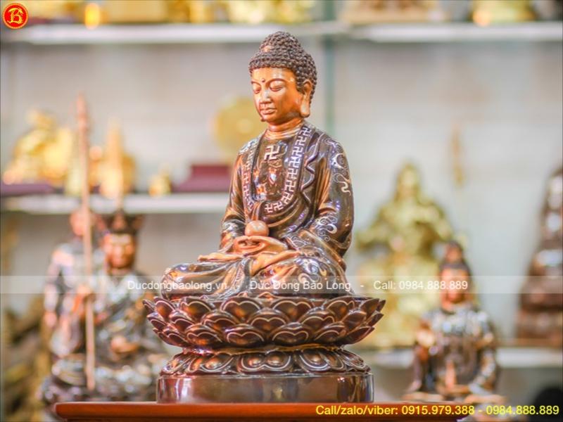 bài trí ban thờ Phật Thích Ca đúng