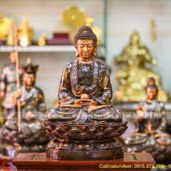 Giá thỉnh tượng Phật Thích Ca Mâu Ni bằng đồng