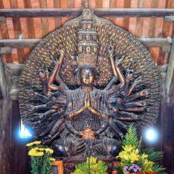 Báo giá tượng Phật Thiên Thủ Thiên Nhãn đúc thủ công, cao cấp