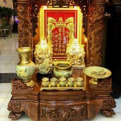 Gia chủ có nên dùng ban thờ Thần Tài – Thổ Địa cũ không?