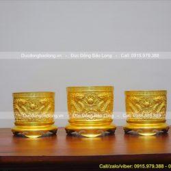 Bộ 3 bát nhang – lư hương thờ cúng gia tiên siêu đẹp, giá rẻ