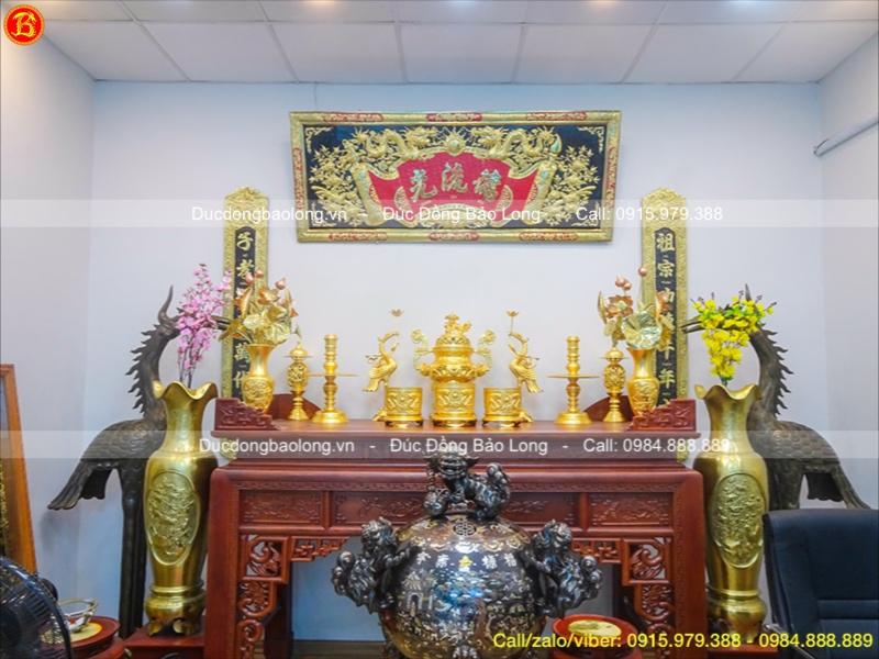 địa chỉ bán đồ thờ mạ dát vàng