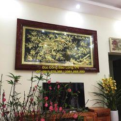 Cửa hàng bán tranh vinh hoa phú quý bằng đồng uy tín, chất lượng