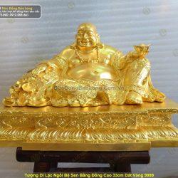 Nên mua tượng Phật Di Lặc bằng đồng hay bằng đá, ngọc tốt hơn?