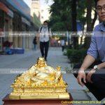 Quy trình đúc, tạc tượng Phật Di Lặc chất liệu đồng thanh khiết