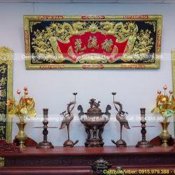 Tư vấn chọn Đồ thờ cho ban thờ 1m97 chuẩn đẹp, phù hợp nhất