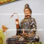 Báo giá thi công đúc tượng Phật bằng đồng cho đình, chùa