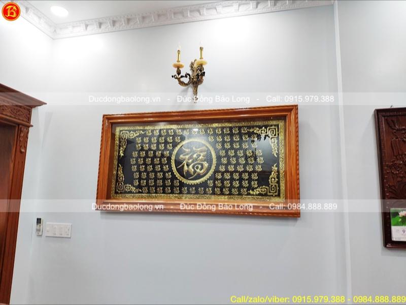 Treo tranh Bách Phúc 1m76 x 89cm cho khách Tp.HCM