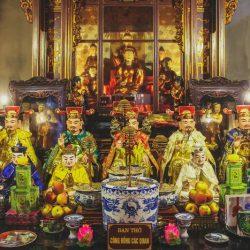 Hệ thống các vị Thần Thánh được thờ trong Tứ Phủ