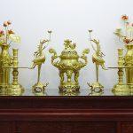 Tư vấn chọn Đồ thờ cho ban thờ 1m76 – Nhận chế tác theo yêu cầu