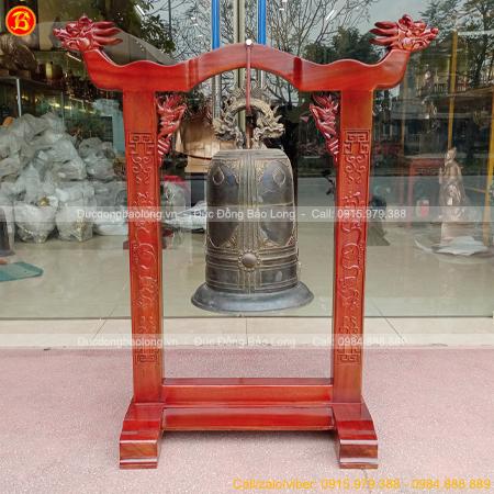 Chuông Đồng 20kg và giá treo cho phòng thờ