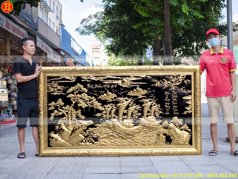 tranh Thuận Buồm Xuôi Gió 2m31 x 1m27