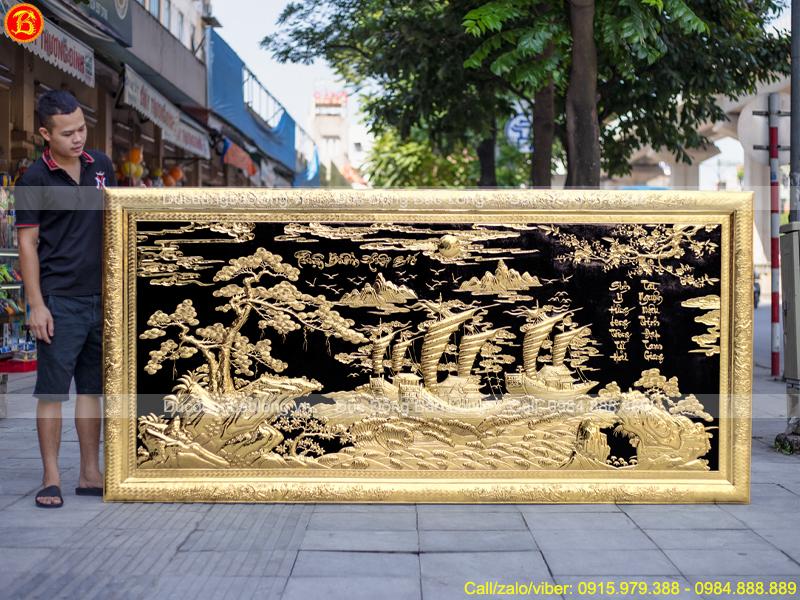 tranh Thuận Buồm Xuôi Gió 2m62 x 1m27