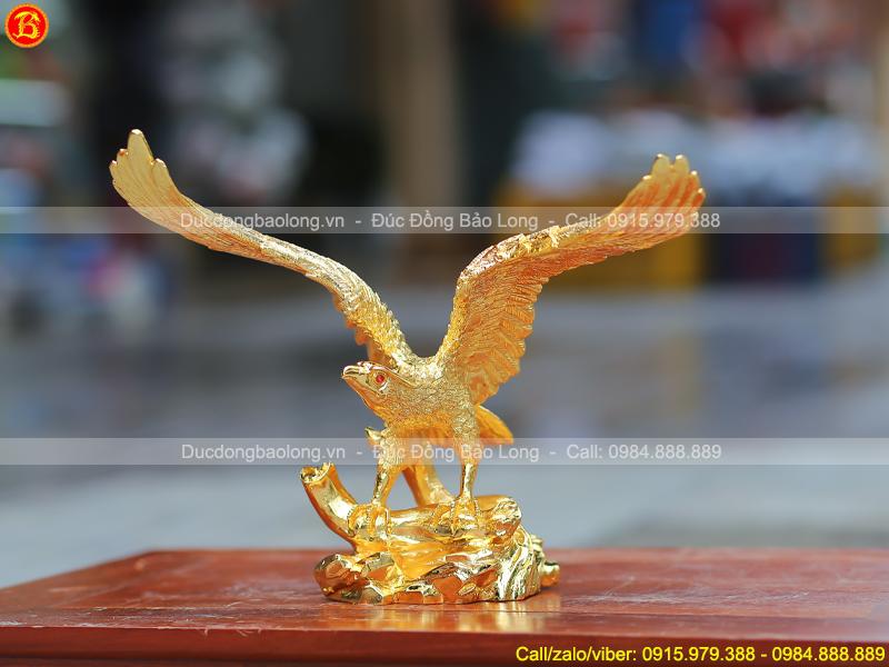tượng Chim Đại Bàng tung cánh cao 27cm