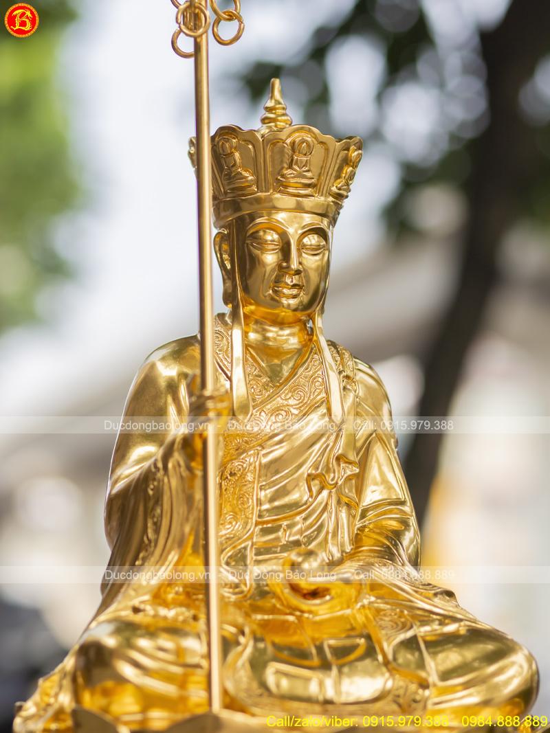 tượng Địa Tạng Vương Bồ Tát cao 48cm