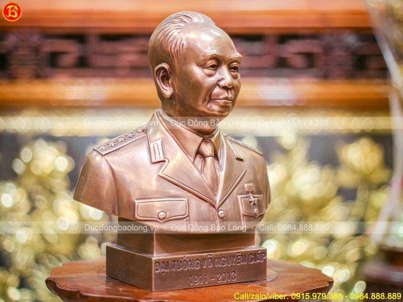 tượng Võ Nguyên Giáp bán thân 30cm