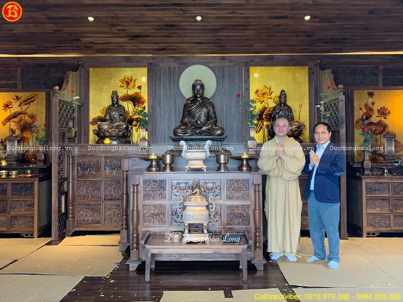 bàn giao tượng Phật